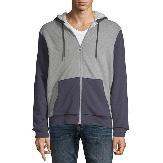 Jacket Large Smart 360 Flex Dockers Mens Long Sleeve Full Zip Sweater Night Terry