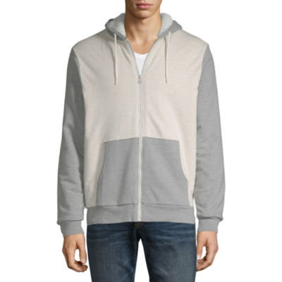 Arizona Mens Long Sleeve Sherpa Lined Hoodie