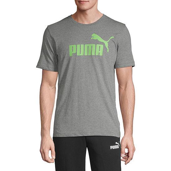 Puma Essential Logo Mens Crew Neck Short Sleeve T-Shirt