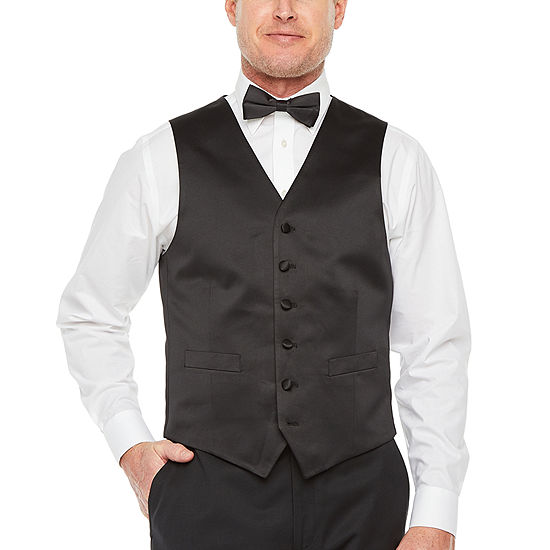 Stafford Travel Classic Fit Tuxedo Vest