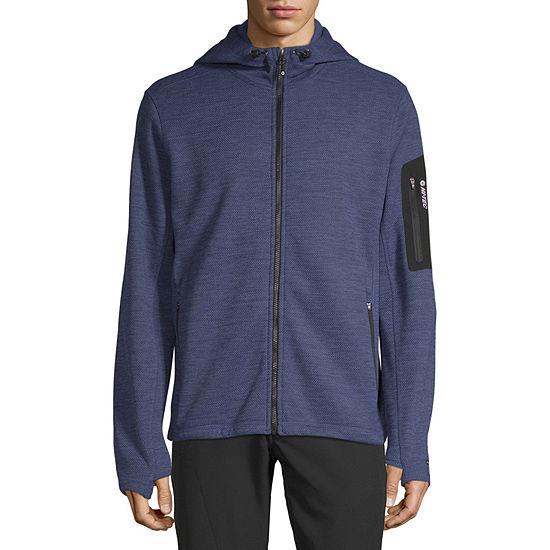 Hi-Tec Hooded Lightweight Fleece Jacket