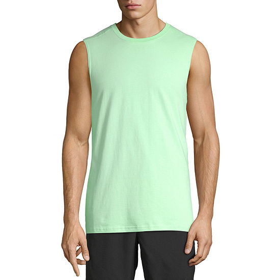 Xersion Mens Crew Neck Sleeveless Muscle T-Shirt