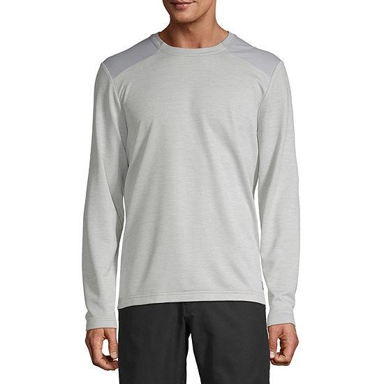 Msx By Michael Strahan Mens Crew Neck Long Sleeve T-Shirt
