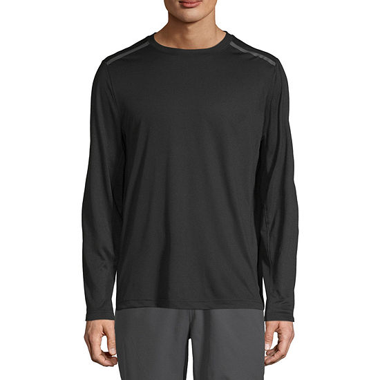 Msx By Michael Strahan Mens Crew Neck Long Sleeve T-Shirt