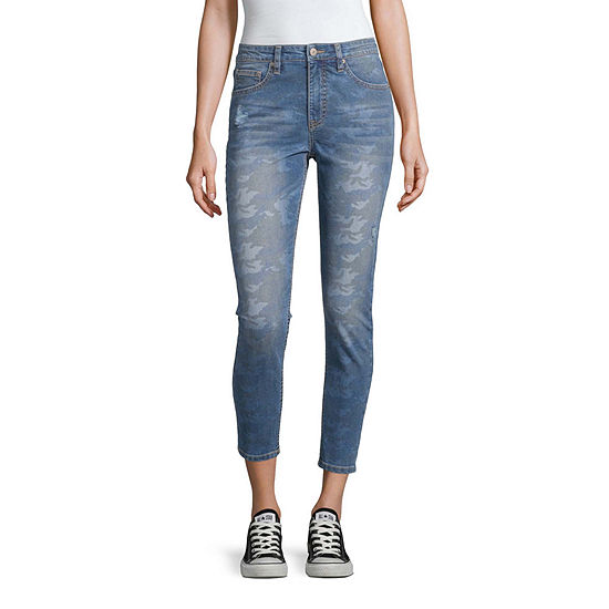 Unionbay Womens High Waisted Skinny Fit Jean - Juniors