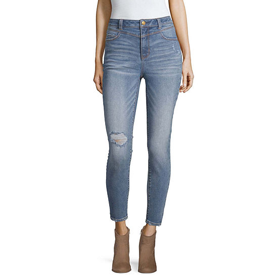 Vanilla Star Womens High Waisted Skinny Fit Jean - Juniors