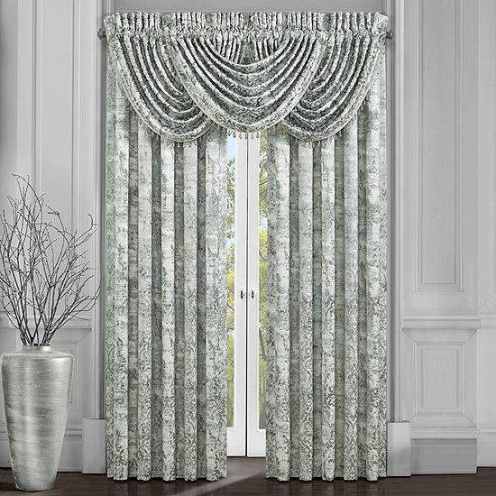 Queen Street Donna Room Darkening Rod-Pocket Set of 2 Curtain Panels