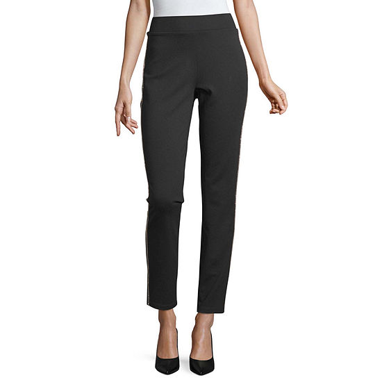 Liz Claiborne Womens Skinny Pull-On Pants