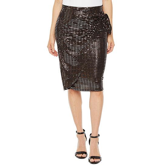 Bold Elements Womens Pencil Skirt