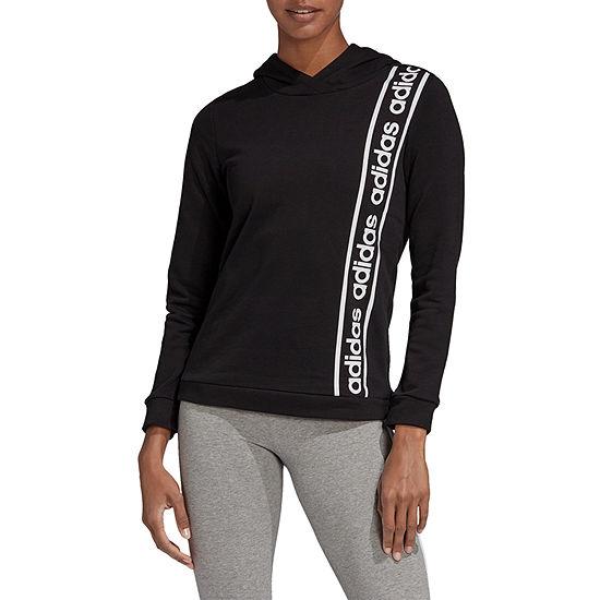 Adidas 90s Hoody Womens Long Sleeve Knit Hoodie