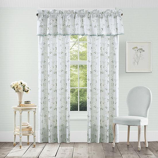 Queen Street Evelina Room Darkening Rod-Pocket Set of 2 Curtain Panel
