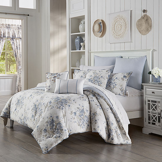 Queen Street Frannie 3-pc. Floral Heavyweight Comforter Set