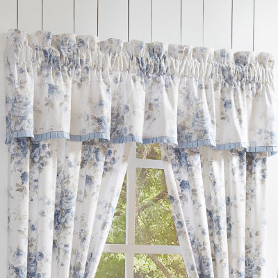 Queen Street Frannie Rod-Pocket Tailored Valance