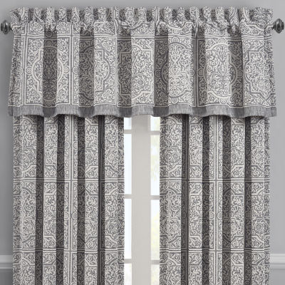 Queen Street Mason Rod-Pocket Tailored Valance