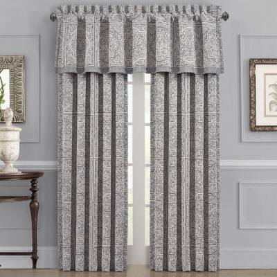 Queen Street Mason Energy Saving Room Darkening Rod-Pocket Set of 2 Curtain Panel