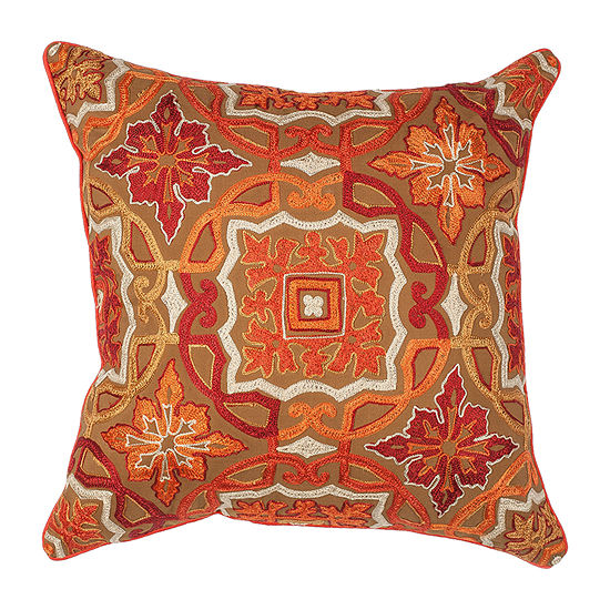 Kas Awakening Square Throw Pillow