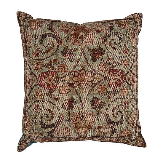 Kas Casbah Square Throw Pillow