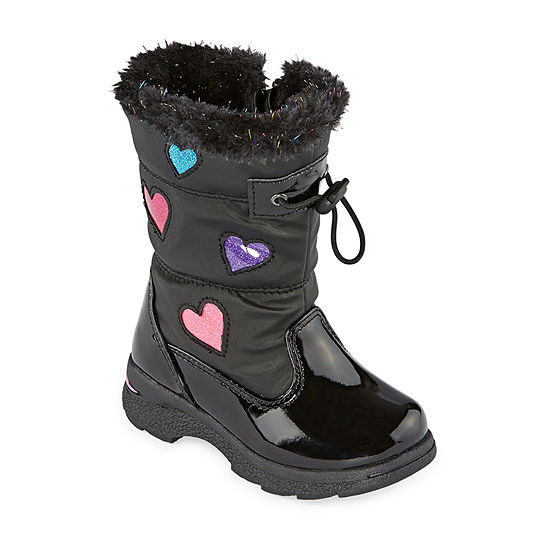Totes Toddler Girls Ava Waterproof Insulated Winter Boots