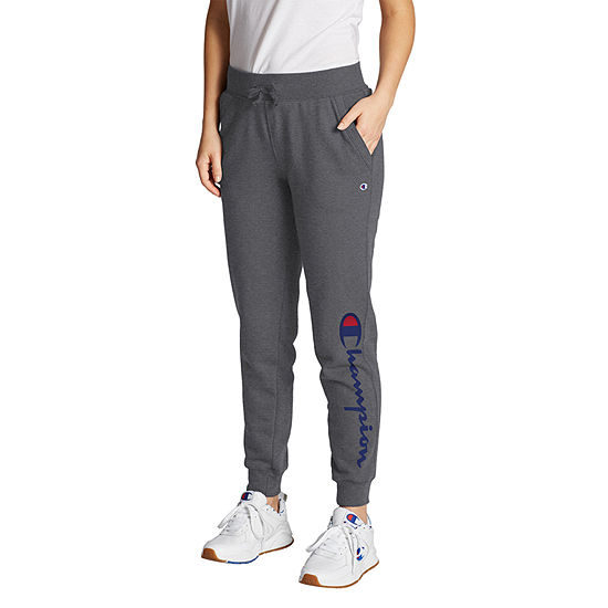 Champion Womens Fleece Logo Jogger Pants