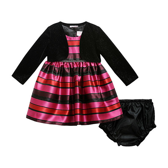 Young Land - Baby Girls Sleeveless Party Dress