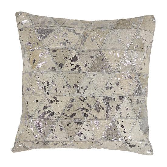 Kas Prism Square Throw Pillow