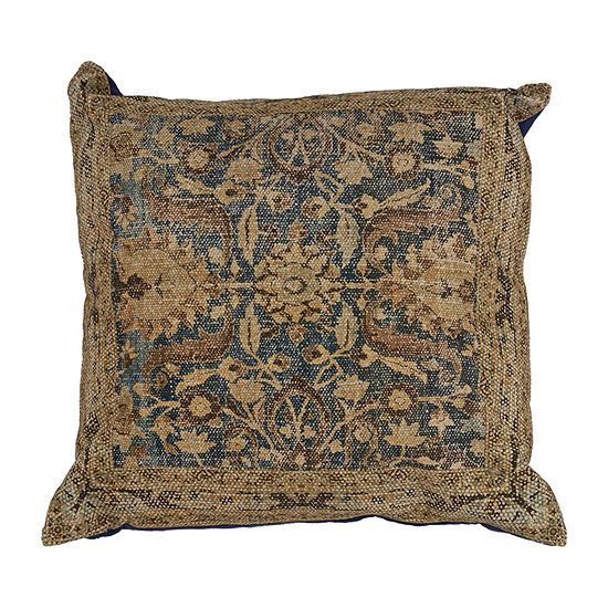 Kas Raina Square Throw Pillow