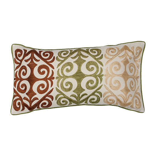 Kas Damask Rectangular Throw Pillow