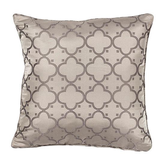 Kas Filigree Square Throw Pillow