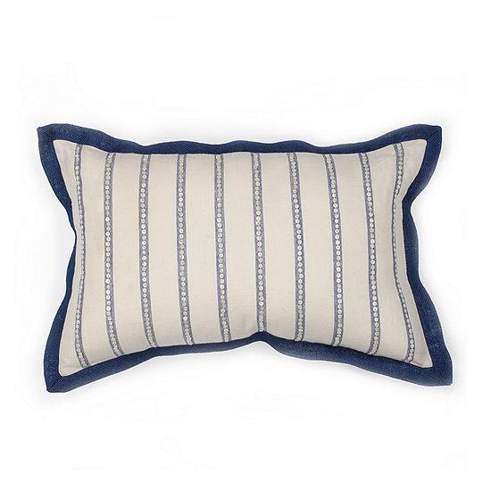 Kas Lines Rectangular Throw Pillow