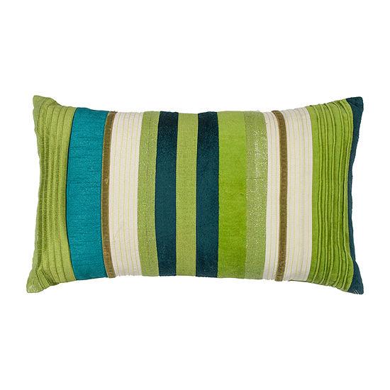 Kas Stripes Rectangular Throw Pillow