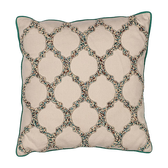Kas Geo Square Throw Pillow