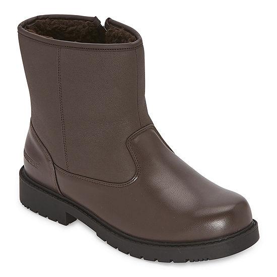 Weatherproof Mens TRAVELER II Insulated Flat Heel Winter Boots