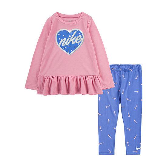 Nike Nike Toddler Girls 2-pc. Legging Set