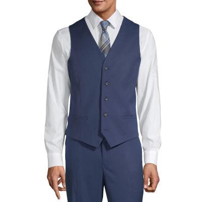 JF J.Ferrar Ultra Comfort Mens Classic Fit Suit Vest - Big and Tall