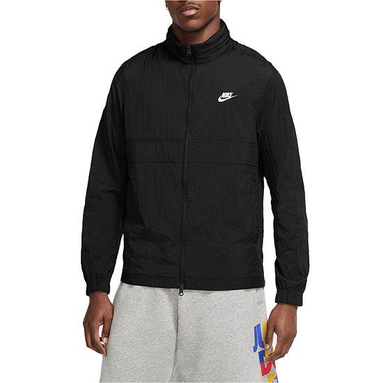 Nike Big and Tall Mens Hooded Neck Long Sleeve Shells