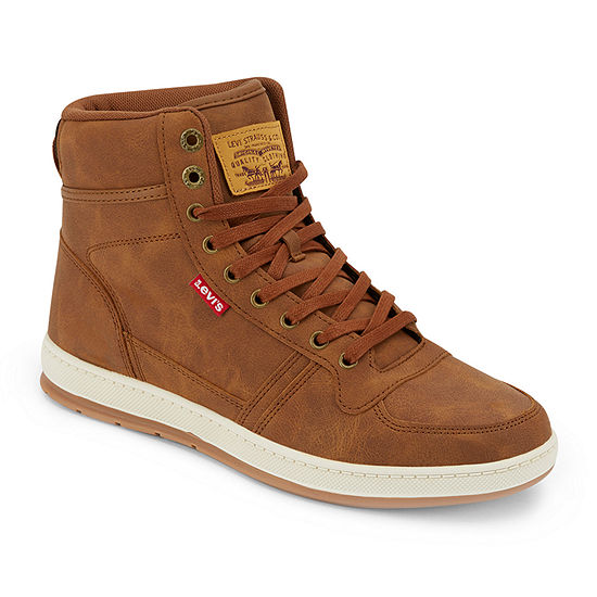 Levi's Mens Stanton Flat Heel Lace Up Boots