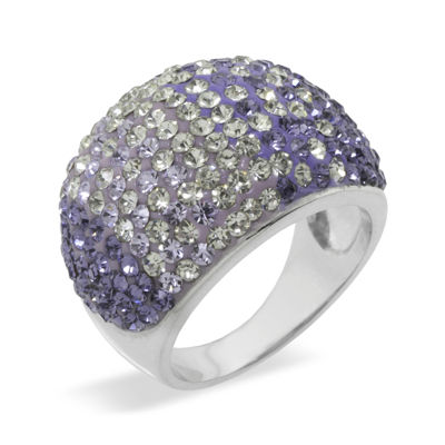 Sparkle Allure Purple Crystal Ombre Band