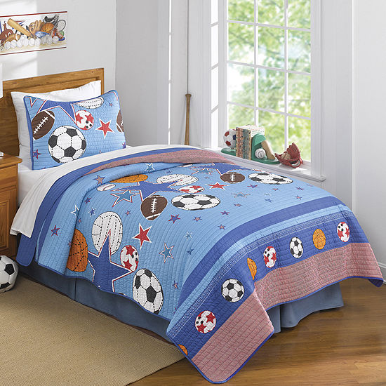 My World Sports and Stars Quilt Set