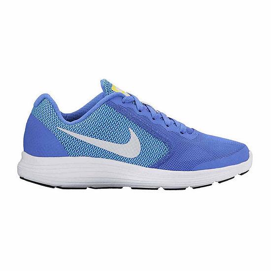 online retailer c4d0a 43e04 Nike Revolution 3 Girls Running Shoes Big Kids JCPenney