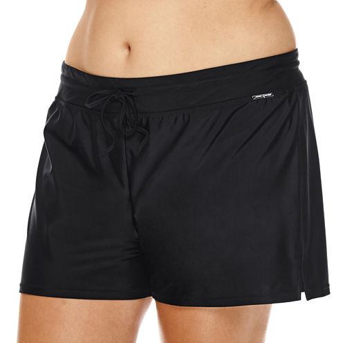 ZeroXposur® Knit Action Shorts - Plus