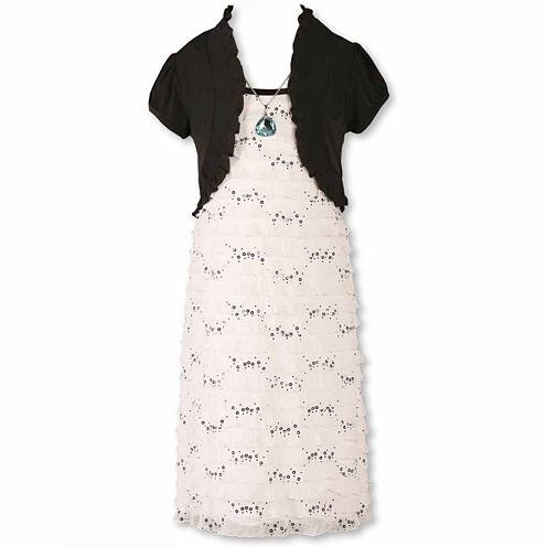 Speechless® Eyelash Dress - Girls 7-16 and Plus