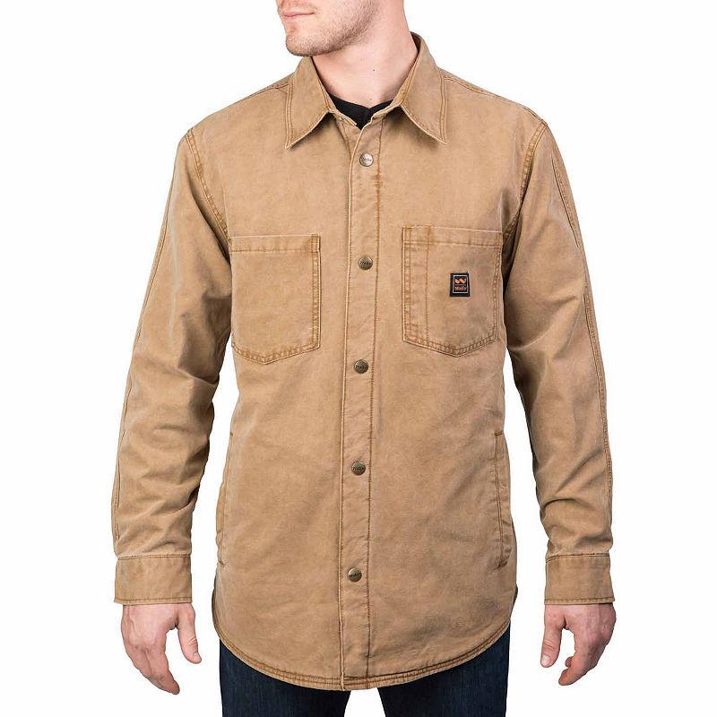 Wall Vintage Duck Jack-Shirt plus size,  plus size fashion plus size appare