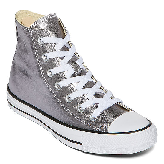 6a9739695b8 Converse Chuck Taylor All Star Metallic High-Top Sneakers- Unisex Sizing -  JCPenney