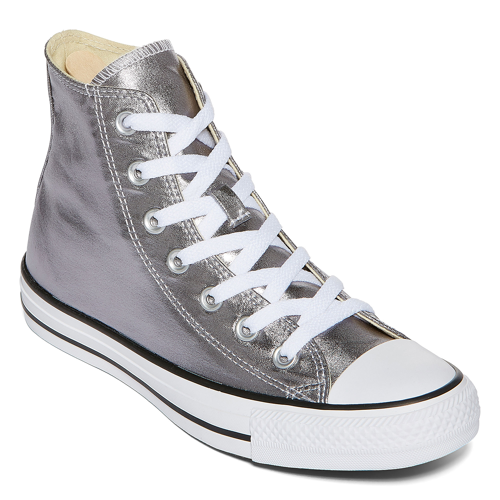 Converse Chuck Taylor All Star Metallic High-Top Sneakers- Unisex Sizing plus size,  plus size fashion plus size appare