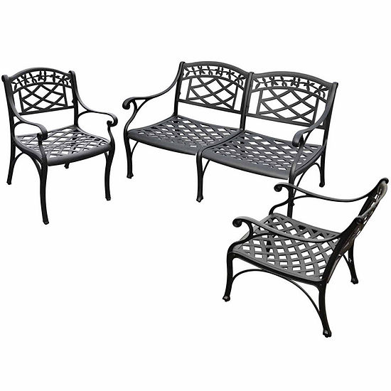 Crosley Sedona Cast Aluminum 3-pc. Conversation Set