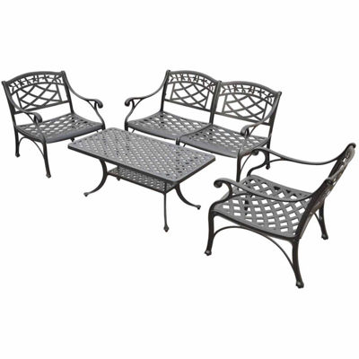 Crosley Sedona Cast Aluminum 4-pc. Conversation Set