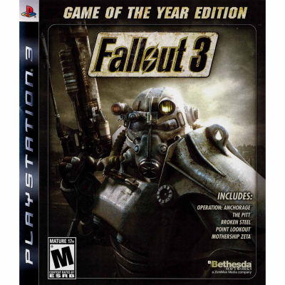 Fallout 3 Video Game-Playstation 3