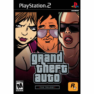 Grand Theft Auto Trilogy Video Game-Playstation 2