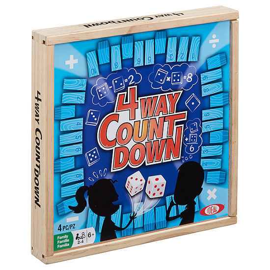 Ideal 4 Way Countdown Board Game Jcpenney