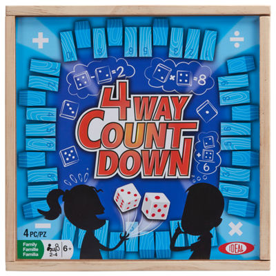 Ideal 4-Way Countdown Board Game